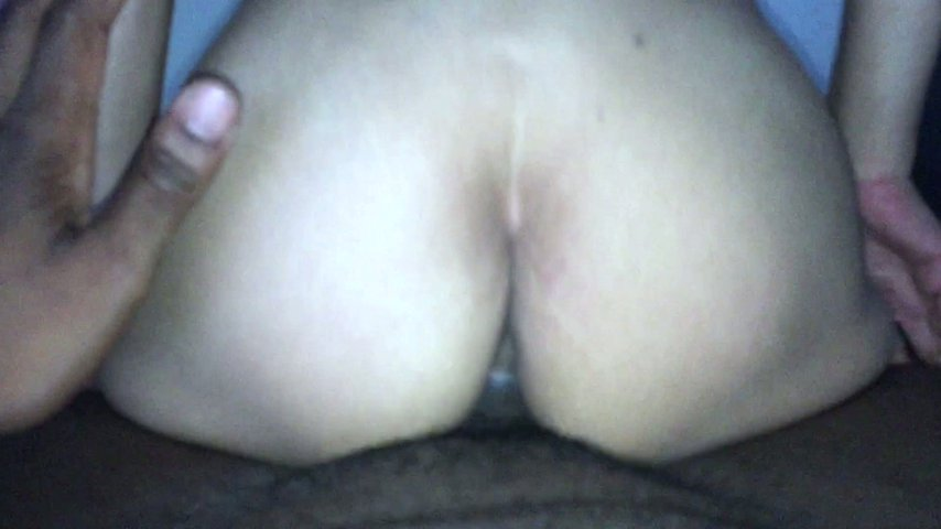 Milf rides and gets creampied by bbc
